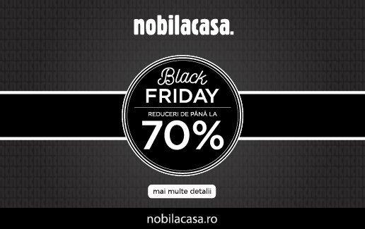 Reduceri de pana la 70% de Black Friday!