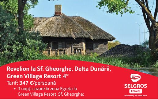 Revelion 2018 la Sf. Gheorghe, Delta Dunarii