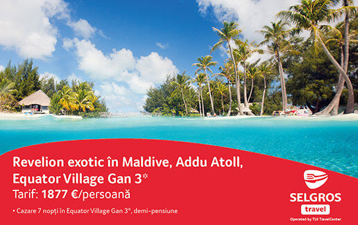 Revelion exotic in Maldive, Addu Atoll, Equat
