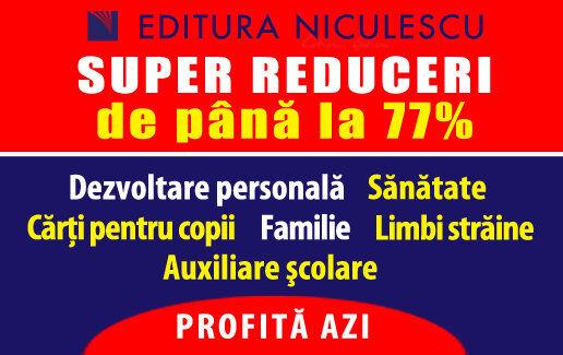 SUPER REDUCERI de pana la 77%