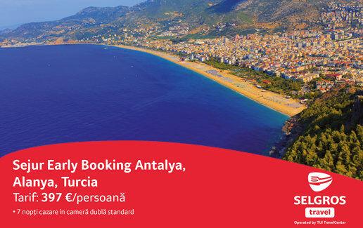 Sejur Early Booking Antalya, Alanya, Turcia