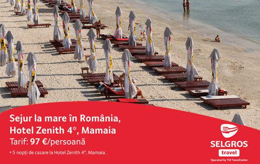 Sejur la mare in Romania, hotel Zenith 4*, Mamaia