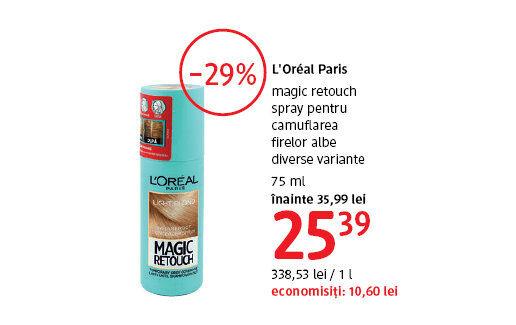 Spray pentru camuflarea firelor albe la 25.39 lei