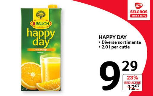 Suc Happy day la 9.29 lei
