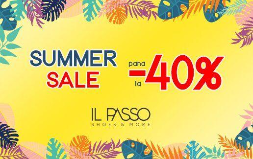 Summer Sales de pana la -40%