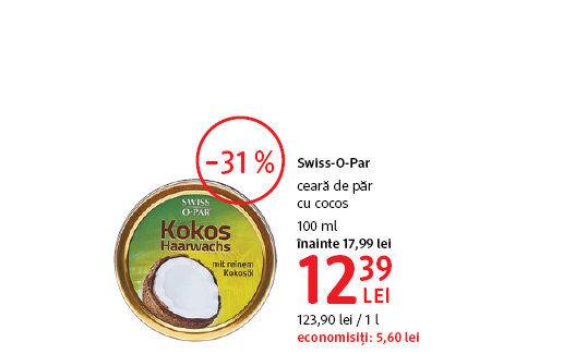 Swiss-O-Par ceara de par la 12.39 lei