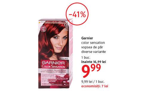 Vopsea de par Garnier la 9.99 lei