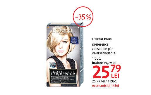 Vopsea de par L'Oreal Paris la 25.79 lei