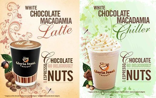 White Macadamia Latte & Chiller