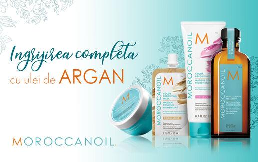 Îngrijire completă cu Moroccanoil