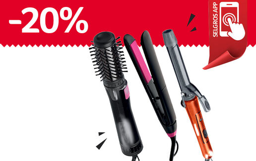 -20% la aparatele de hairstyling