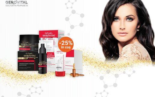 -25% la Dermatocosmetice Farmec