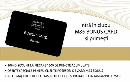 Beneficiile Bonus Card