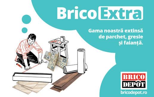BricoExtra - Gama noastră extinsă de parchet, gresie și faianță