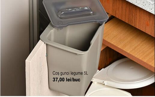 Coș gunoi pentru legume 5L