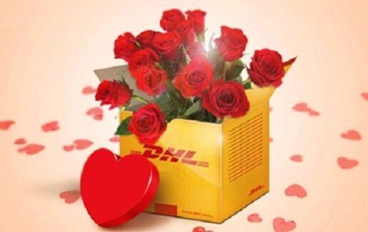 DHL livrează iubire!
