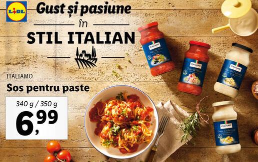 Gust si pasiune in stil italian