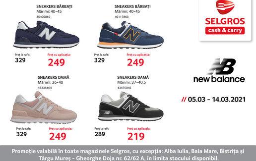 New Balance Sneakers Promo