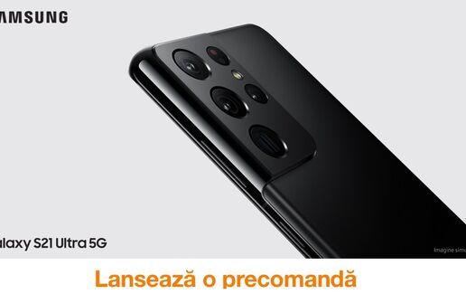 Noile Galaxy S21 acum la precomandă la Orange