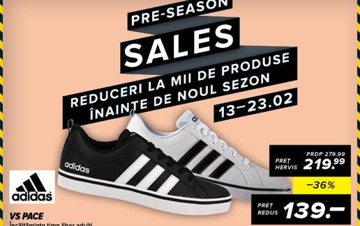 PRE-SEASON Sales
