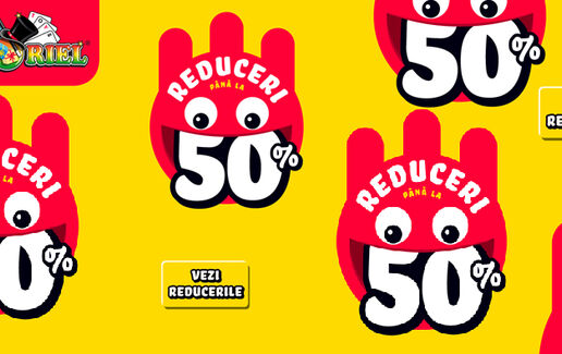 Pana la -50% la Jucarii si Jocuri Noriel