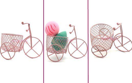 Suport Pink Bicycle pentru buretei de makeup