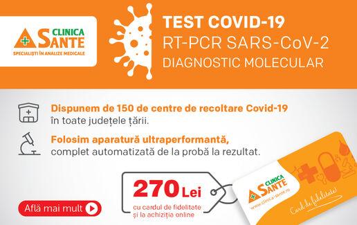 Testul RT-PCR Sars CoV-2 (COVID-19): Diagnostic Molecular