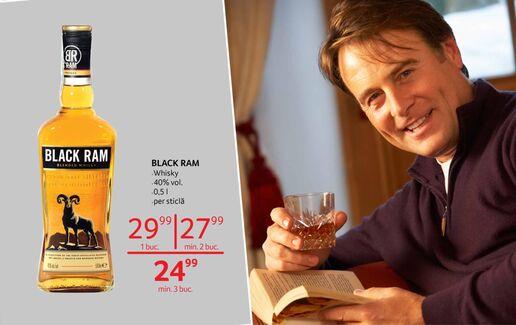 Whisky Black Ram